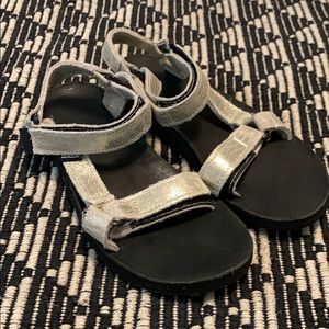 Teva Original Universal Metallic Gold Sandals